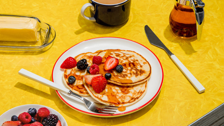 Chobani Greek yogurt pancakes recipe