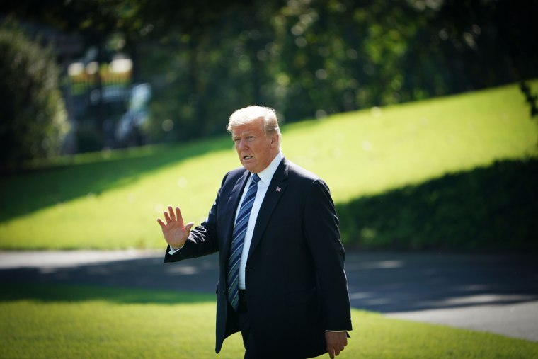Image: Donald Trump boards Marine One