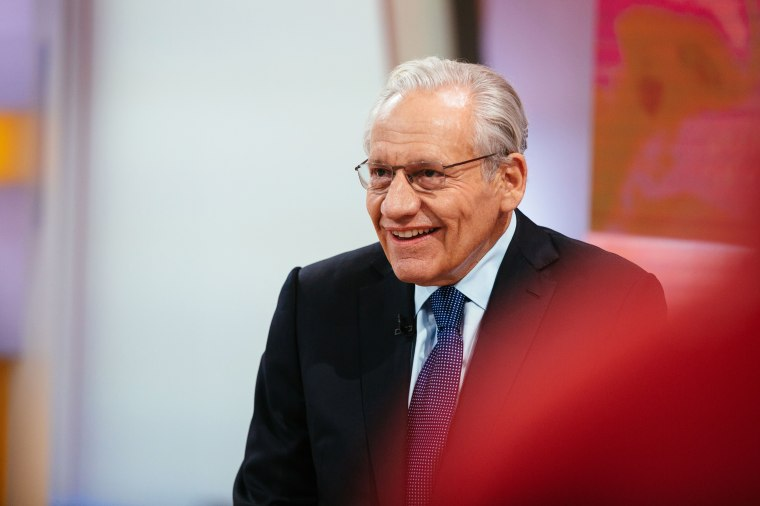Bob Woodward appears on the Today show