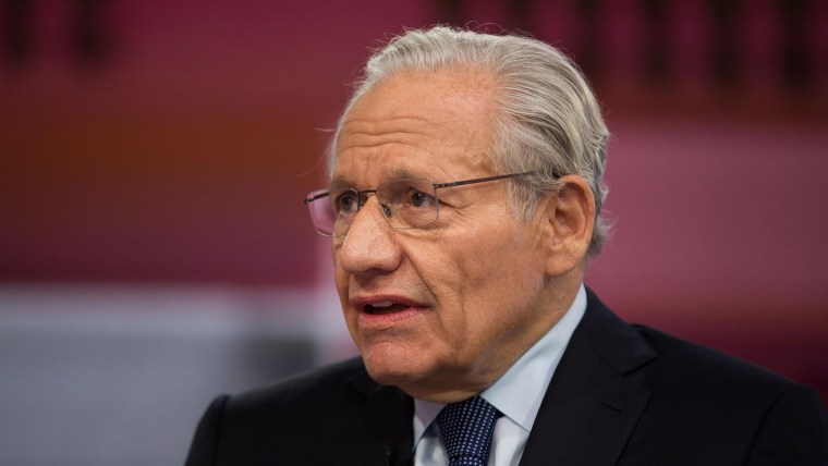 Image: Bob Woodward appears on the Today show