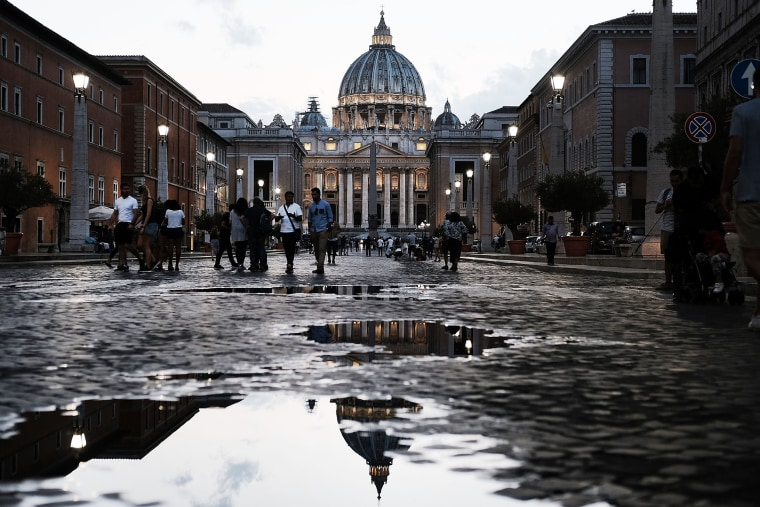 Image: St. Peter's Basilica in Vatican City