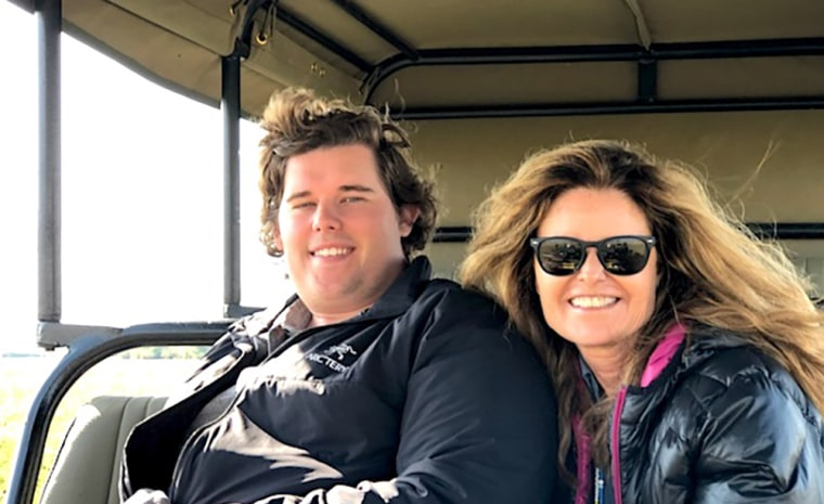 Image: Maria Shriver and her son Christopher