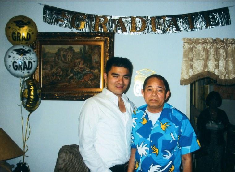 Image: Jose Antonio Vargas with his grandfather