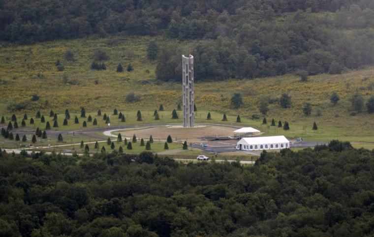 Image: The Flight 93 National Memorial  near Shanksville, Pennsylvania