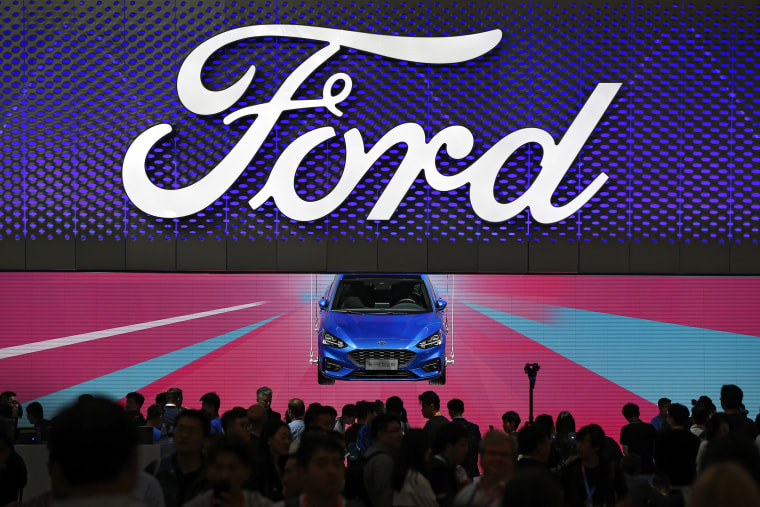 Trump's tariffs costing Ford $1B plus