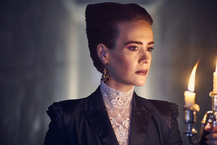 "Ryan Murphy favorite Sarah Paulson is back again in ""American Horror Story: Apocalypse."""
