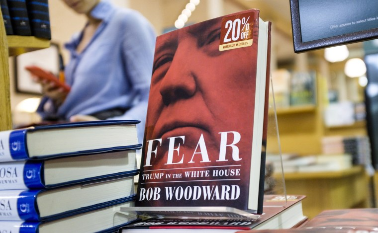 Image: Bob Woodward book 'Fear: Trump in the White House' released