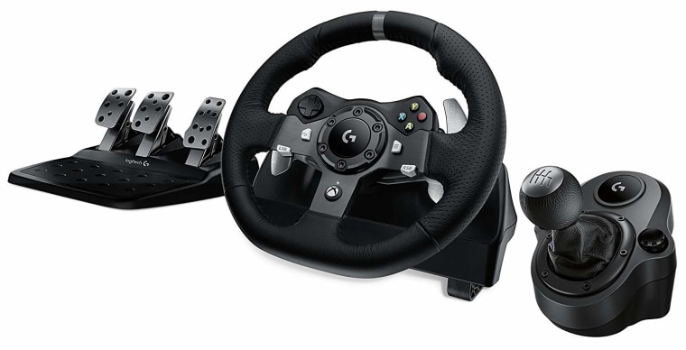 Best gaming gear: best driving wheel, Logitech Driving Force Wheel