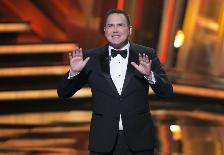 Image: Norm Macdonald begins as host of the Canadian Screen Awards in Toronto on March 13, 2016.