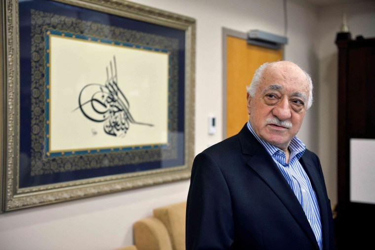 Image: Turkish cleric Fethullah Gulen is pictured in his home in Saylorsburg, Penn.,