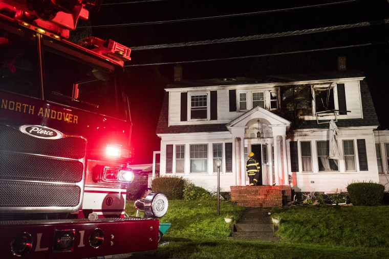 Image: Gas explosions in Massachusetts