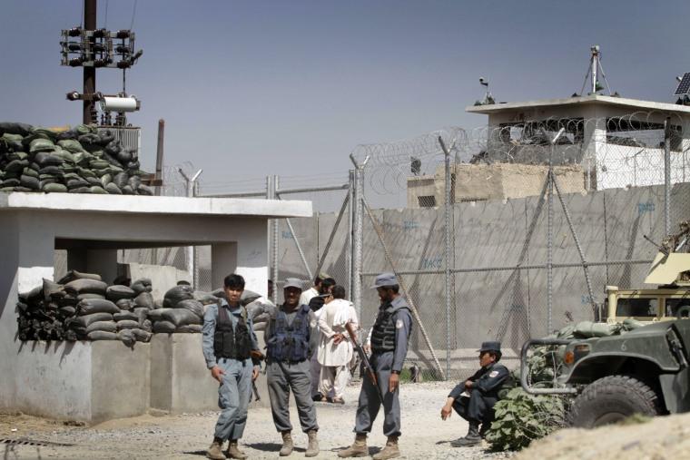 Image: Kandahar prison