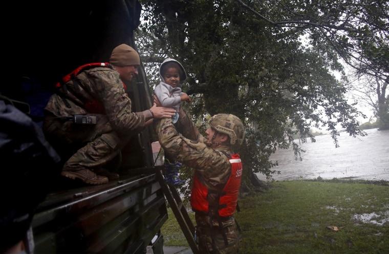 Image: Hurricane Florence Evacuation