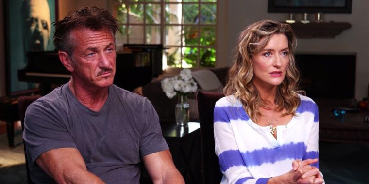 "Sean Penn talks ""The First"" on Hulu"