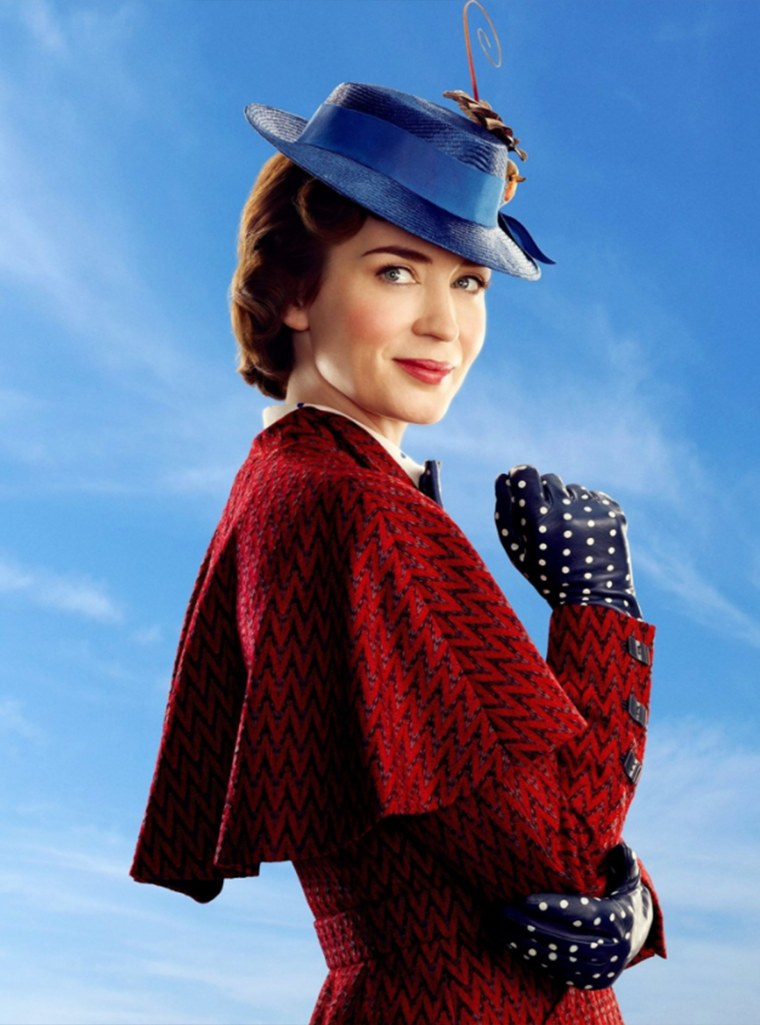 Emily Blunt stars as Mary Poppins in Walt Disney Pictures' Mary Poppins Returns (2018)