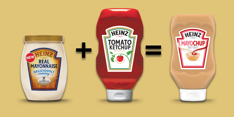 Mayo plus ketchup equals delicious, for some, anyway.