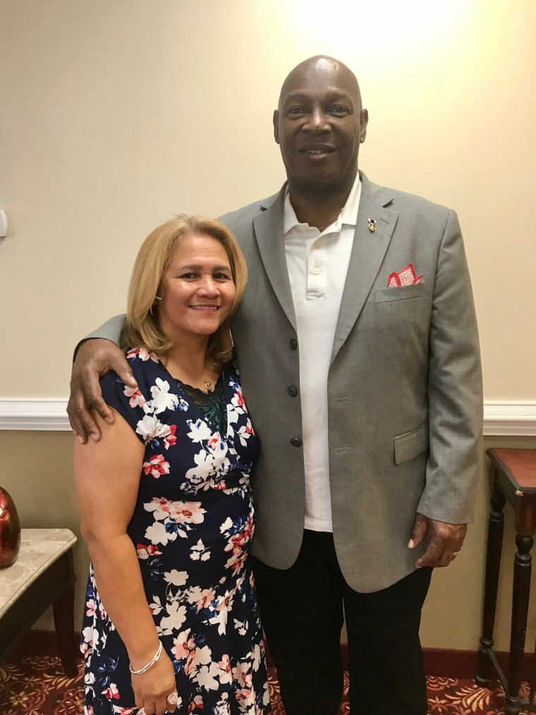 9/11 survivor Clarence Singleton and wife Mary Jean