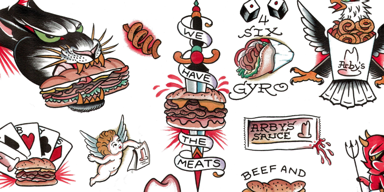 Arby's Offers Customers Free Permanent Sandwich Tattoos