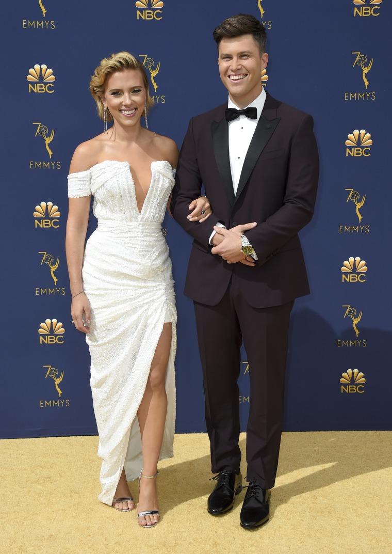 Scarlett Johansson, Colin Jost Emmy Awards