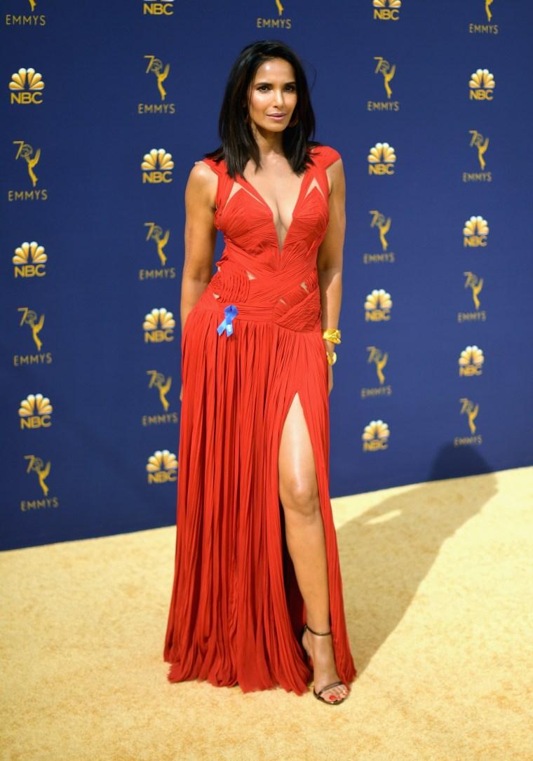 Padma Lakshmi, Emmy 2018