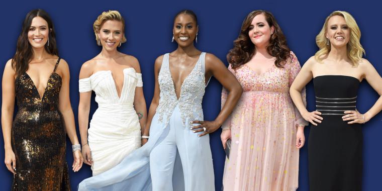 Emmy Awards gold carpet