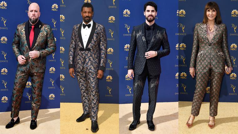 Brocade suits