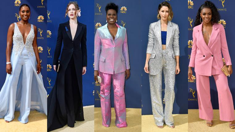 Menswear trend: Emmy Awards 2018