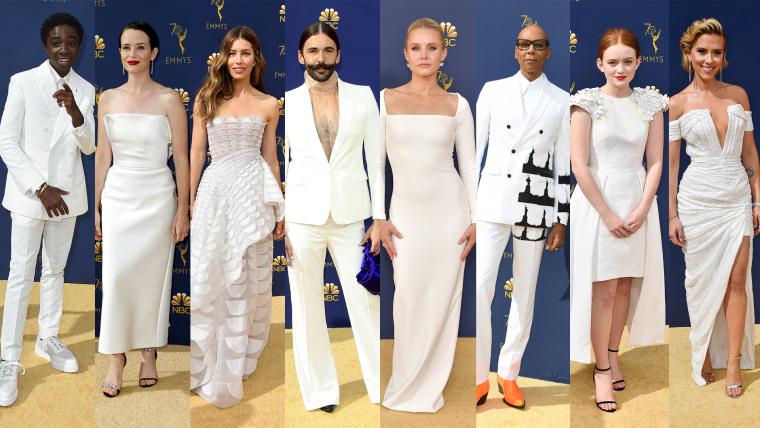 Emmy Awards: White dresses