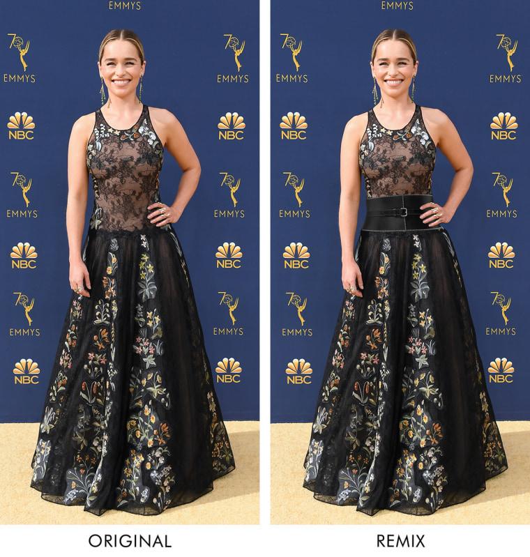 Emilia Clarke Emmys 2018