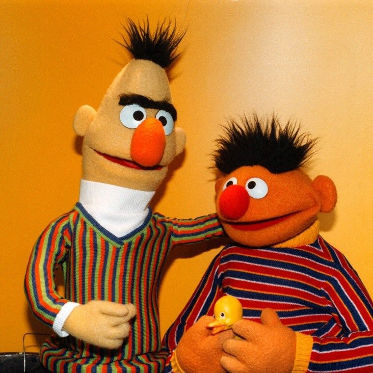 from Blaine bert and ernie gay