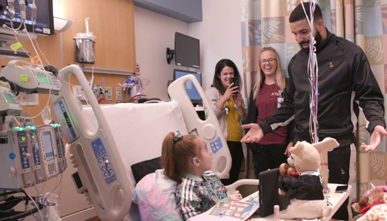 Sofia Sanchez, the girl who met Drake before her heart transplant