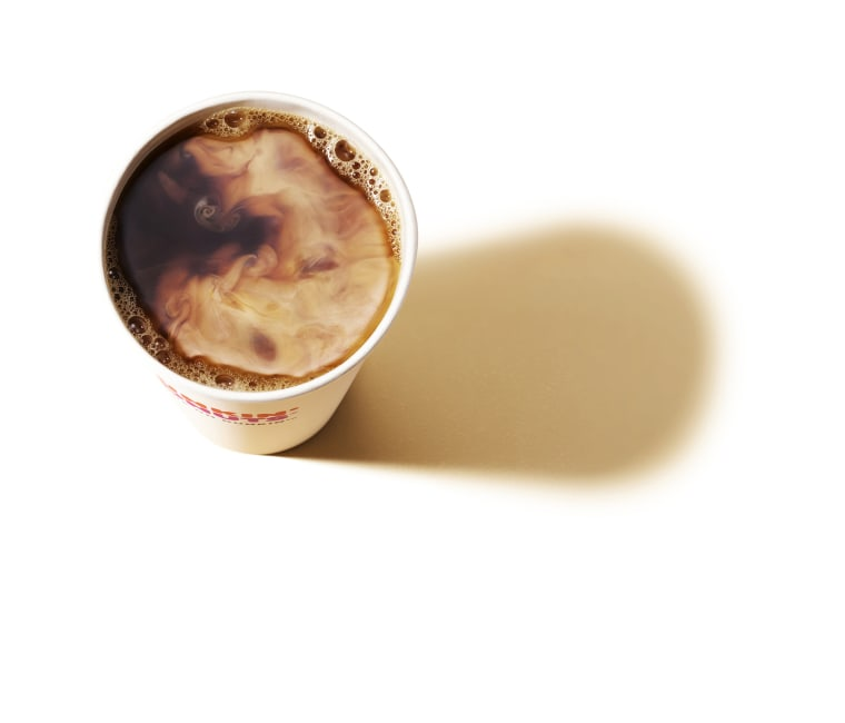 National Coffee Day at Dunkin' Donuts