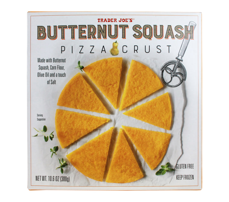 Trader Joe's Butternut Squash Pizza Crust