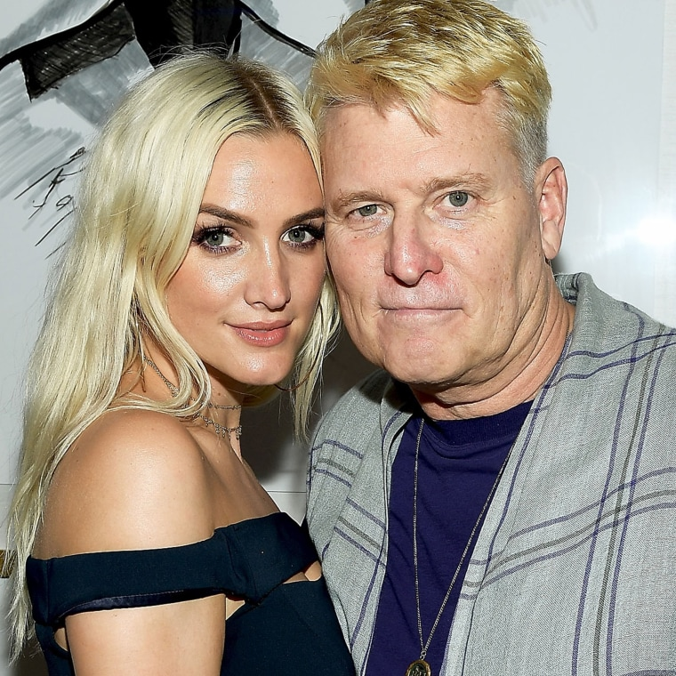 Ashlee Simpson and Joe Simpson