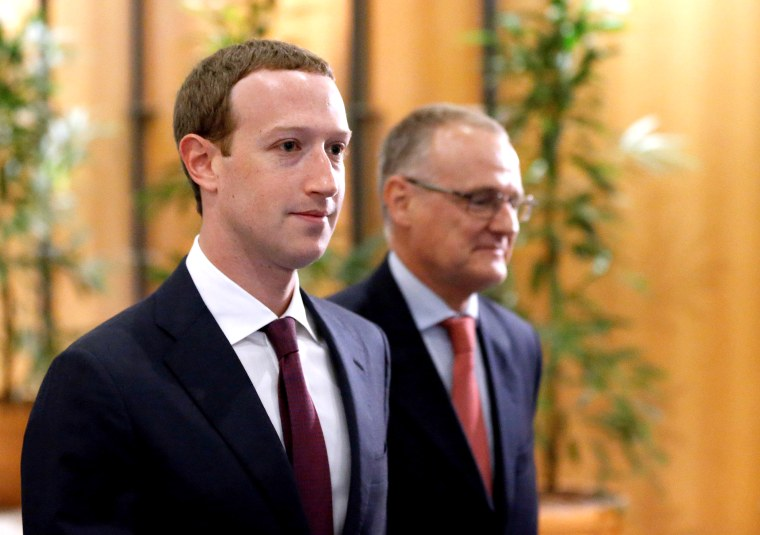 Image: Facebook's CEO Mark Zuckerberg arrives at the European Parliament to answer questions in Brussels
