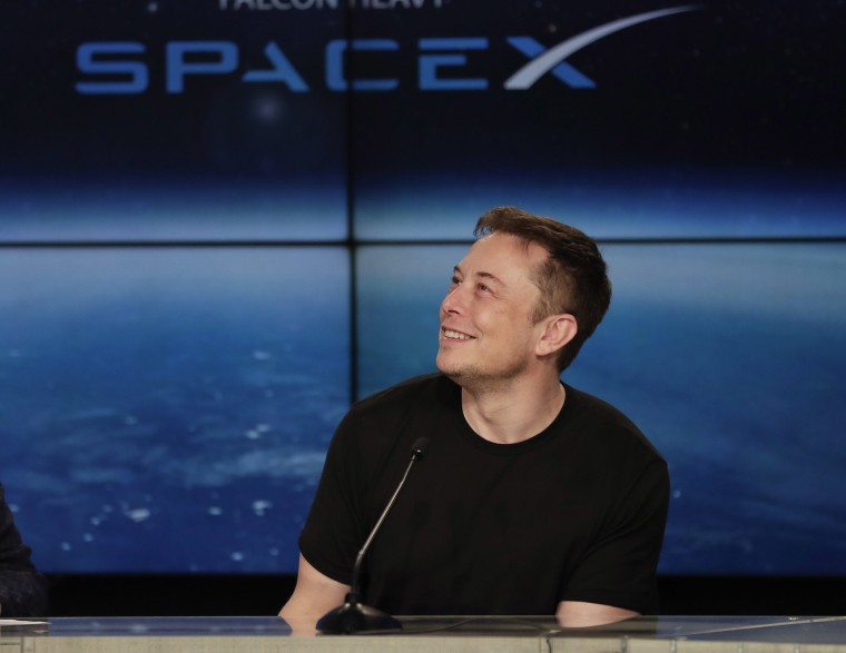 Image: Elon Musk, founder, CEO, and lead designer of SpaceX