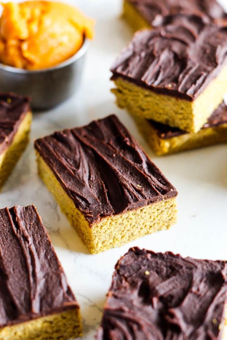 Chocolate Pumpkin Protein Bars