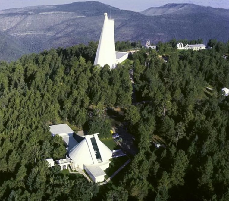 The Sunspot Solar Observatory site on Sacramento Peak in New Mexico.