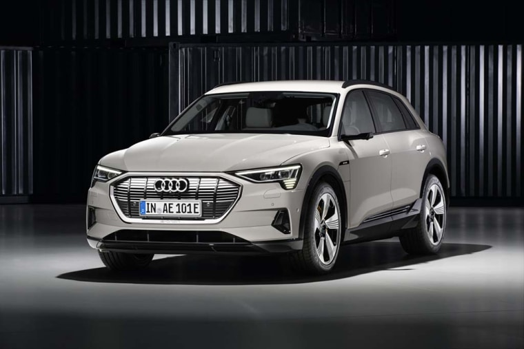 Audi's first long-range battery-electric vehicle, the $76,000 Audi e-tron, will take on Tesla's Model X.
