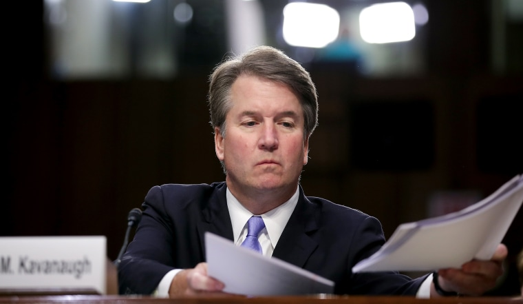 Image: Senate Holds Confirmation Hearing For Brett Kavanaugh To Be Supreme Court Justice