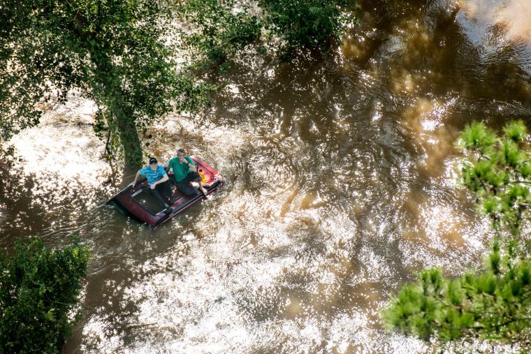 Image: *** BESTPIX *** Carolinas Face Flooding After Hurricane Florence Lumbers Through States