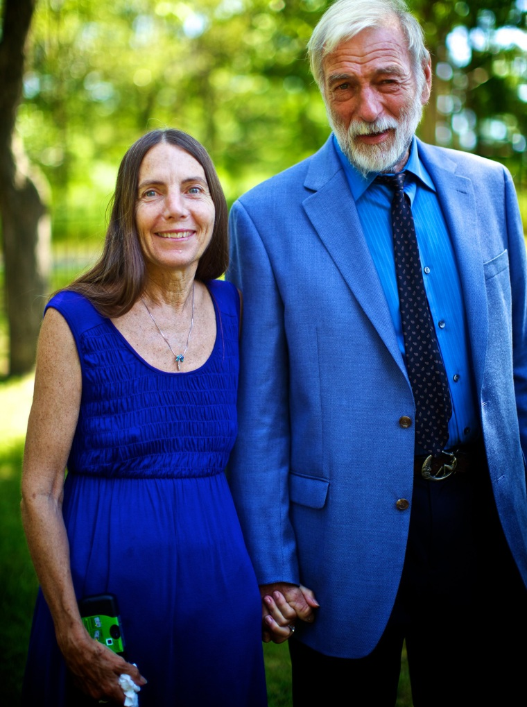 Katherine Hoover and husband John Tomasic