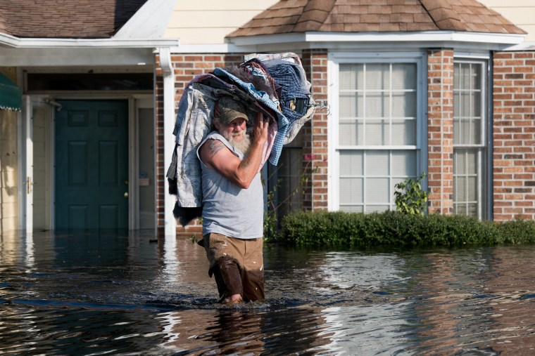 Image: Flood Waters From Hurricane Florence Begin To Flood Parts Of South Carolina