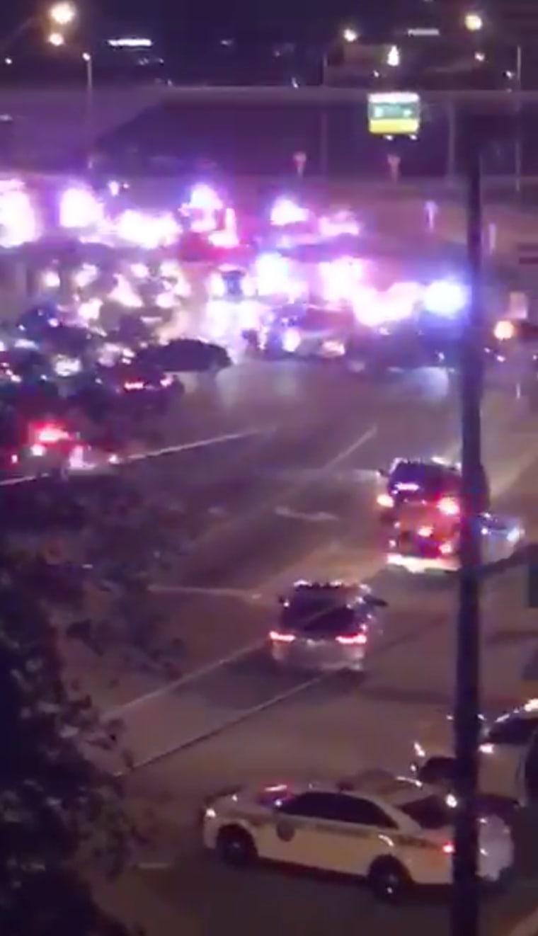 Image: Miami Police SHooting