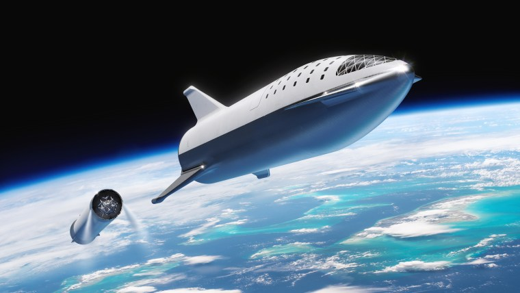 How SpaceXs Huge BFR Spaceship For Mars Has Changed