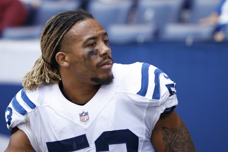 Edwin Jackson of the Indianapolis Colts in 2017.