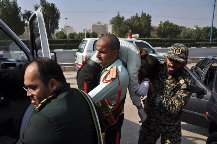 Image: Iran military prade terror attack
