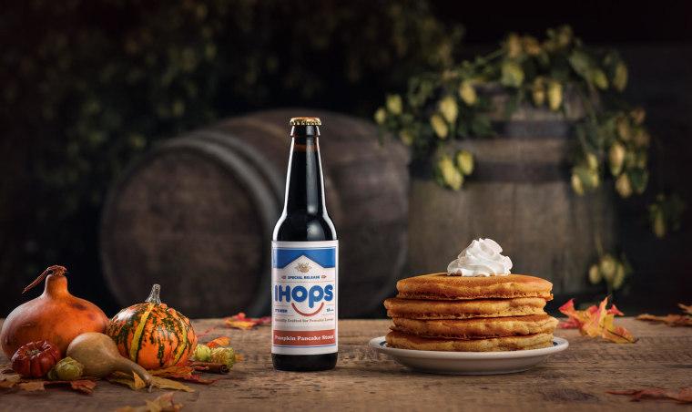 IHOP Pumpkin Pancake Beer