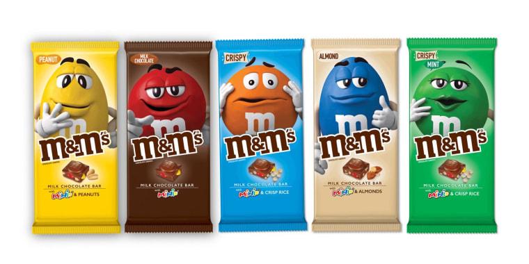 Mars M&M's Bars