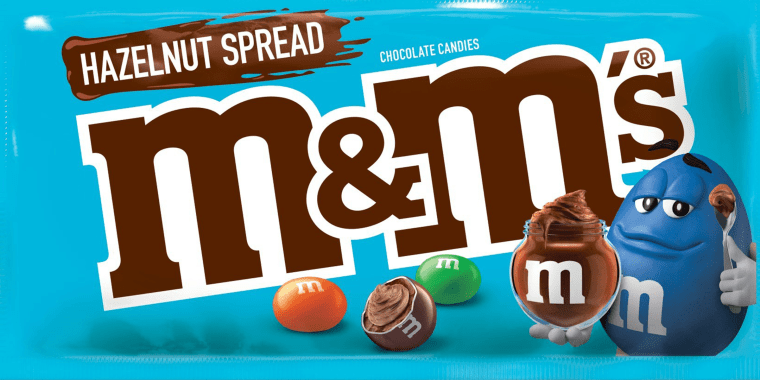 Hazelnut Spread M&M's